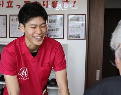 介護部門責任者 小泉 宏輝 先生(三重県桑名市出身)